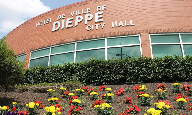 The City of Dieppe.