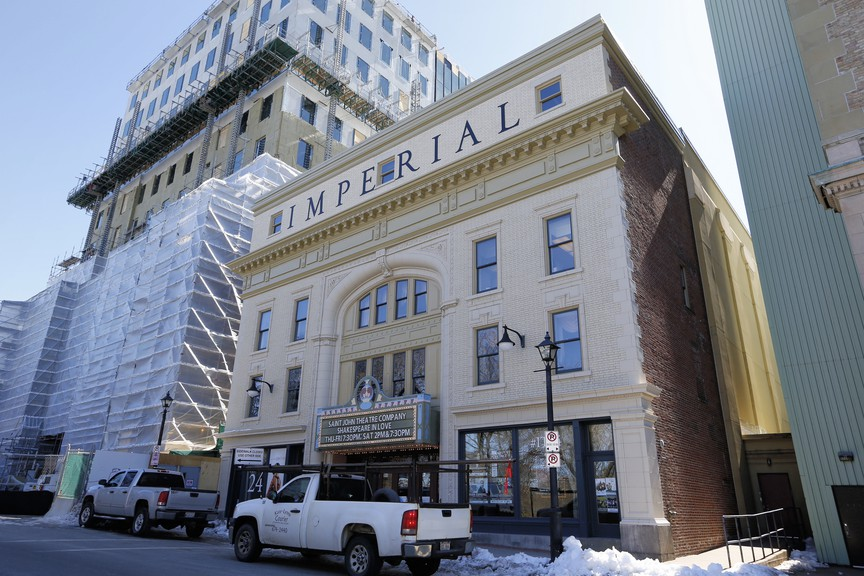 The Imperial Theatre is pictured in this file photo. The theatre postponed a slate of shows in January.