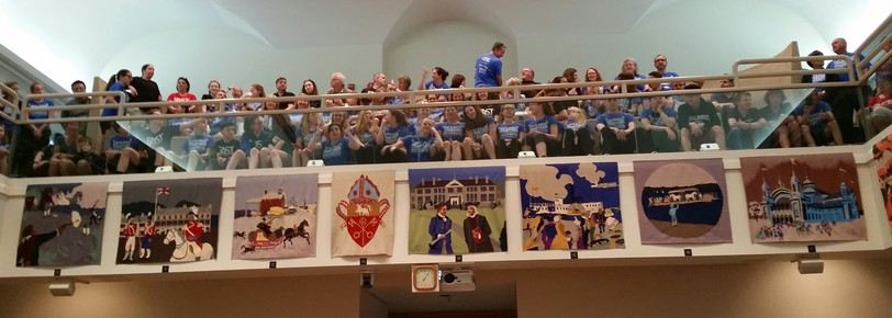 This was the scene at a city council meeting in May of 2018 as pool supporters packed the gallery of the Fredericton council chamber to hear the city offer $140,000 a year for three years to keep the Sir Max Aitken pool at the University of New Brunswick open. The city offered to extend their deal for two more years last Monday, but the province pulled its $260,000 contribution, leaving the future of the pool in limbo once again.