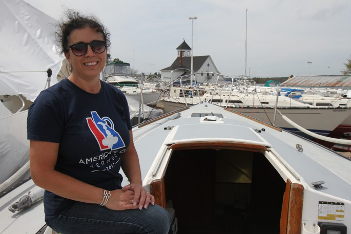 Heather McBriarty, commodore of the Royal Kennebeccasis Yacht Club, said the province's waterways have been very busy this summer as boating has become 'the new COVID thing.'