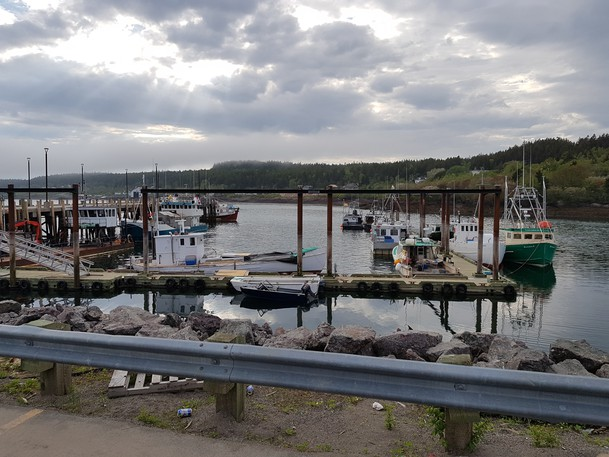 Blacks Harbour Wharf is seen in this file photo.