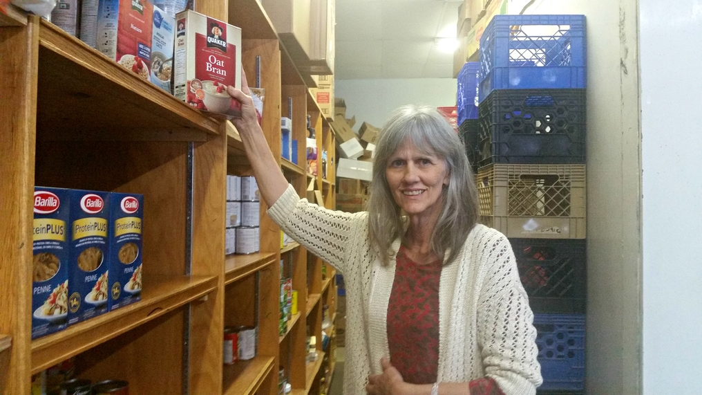 Sandra Olmstead, executive director of Valley Food Bank, says they are desperately looking for volunteers.
