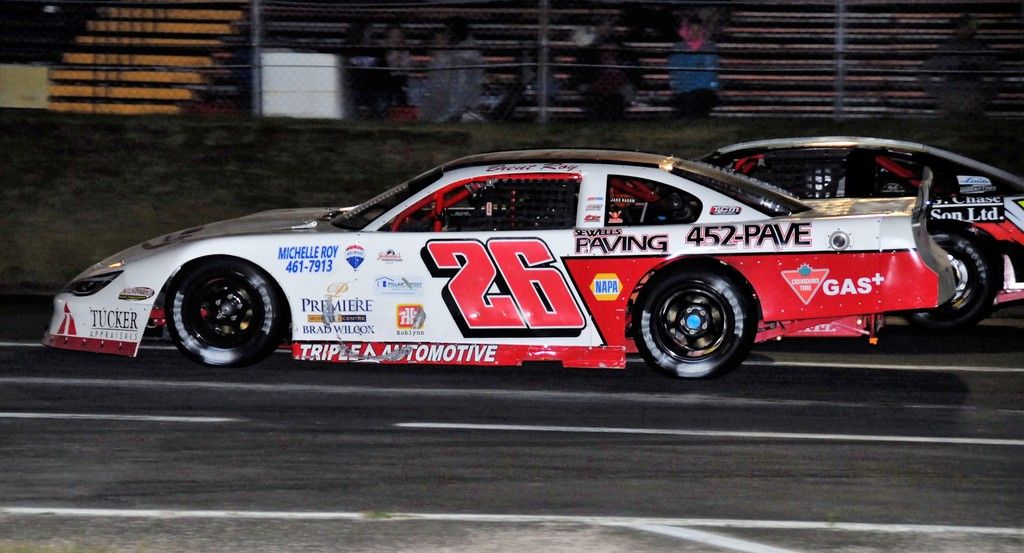 Brent Roy of Hanwell hopes to stretch his early July winning streak at Speedway 660 to four in a row when he competes in the Pro Stock 100 Saturday night. It's the opening night of racing in the Geary woods. The rain date is Sunday at 2 p.m..
