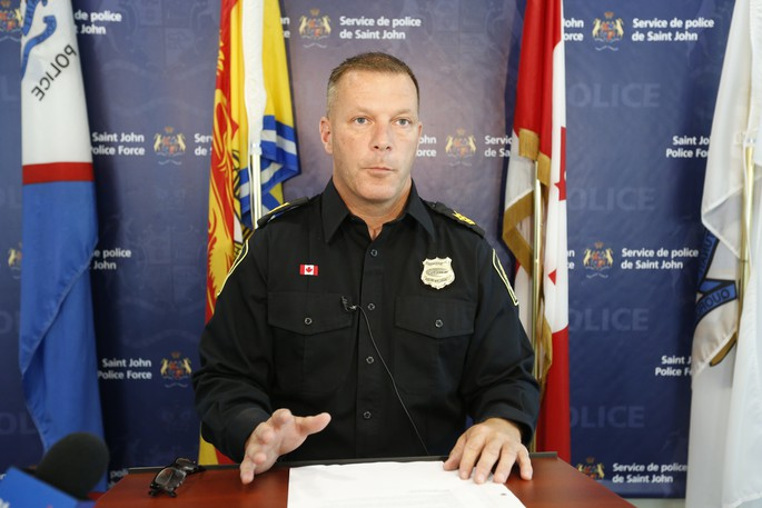 Deputy Chief Tony Hayes, of the Saint John Police Force, is pictured in this file photo.
