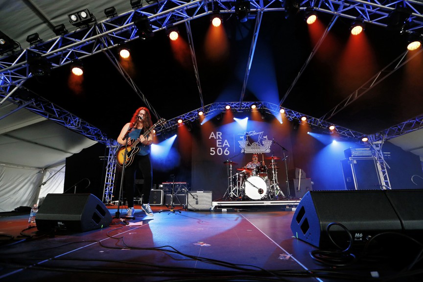 The Kendra Gale Band performs during the 2018 Area 506 Festival. They will be performing a drive-in performance Aug. 1 in Moncton to celebrate N.B. Day.
