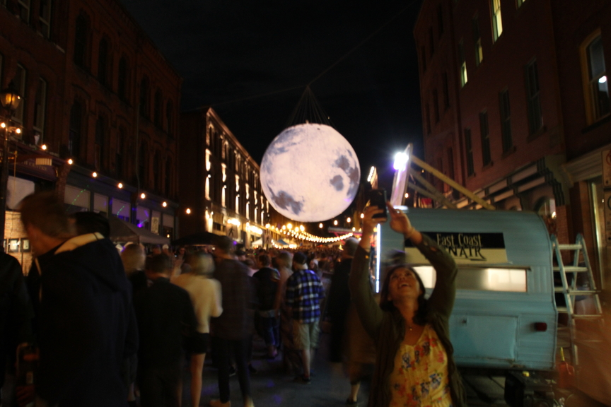 Moonlight Bazaar is shown here in this file photo.