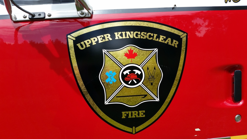 Upper Kingsclear Fire Department.