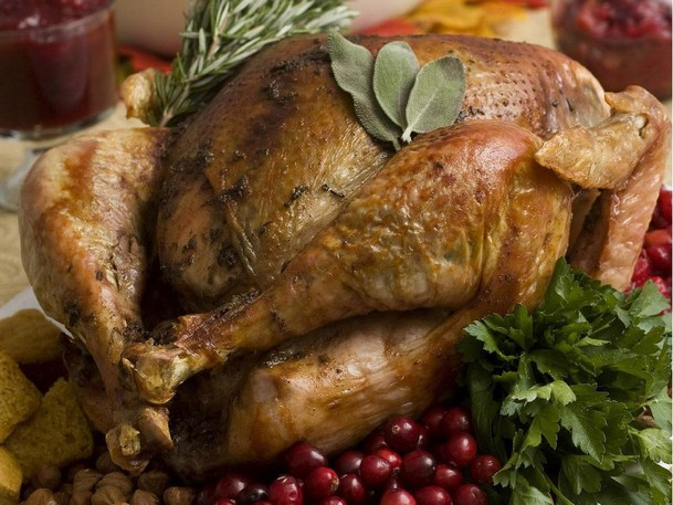 """A Thanksgiving turkey. New Brunswick's chief medical officer of health said a high number of COVID-19 cases involved in a record-breaking surge was """"sparked"""" from private gatherings, just as many New Brunswickers are buying turkeys and making plans for Thanksgiving gatherings this coming weekend."""