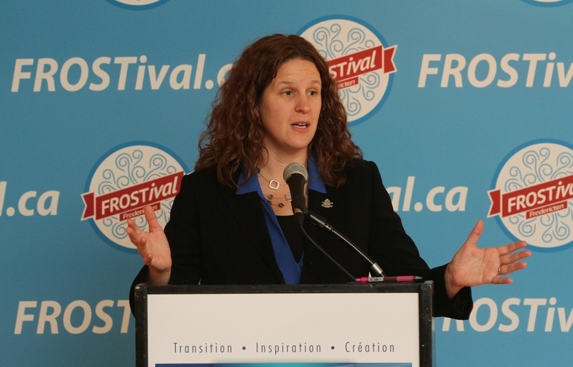 Stacey Russell, manager of Fredericton Tourism.