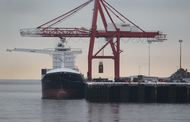Exports through Maritime hubs like Port Saint John, pictured here, are essential to future Maritime prosperity, writes Herb Emery.