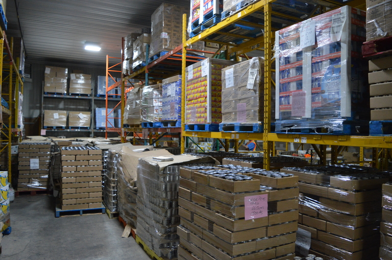 The Food Depot Alimentaire warehouse in Moncton.