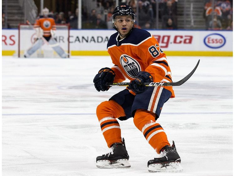 """Oilers defenceman Caleb Jones and his brother Seth, who plays for the Blue Jackets are getting ready to take part in the NHL playoffs. Their dad, Ronald """"Popeye"""" Jones, is working for the Indiana Pacers and living at the NBA's Disney World hub."""