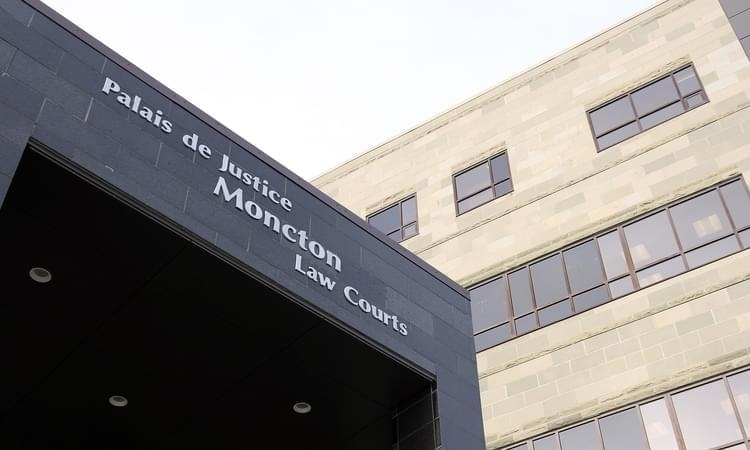 The Moncton Law Courts.