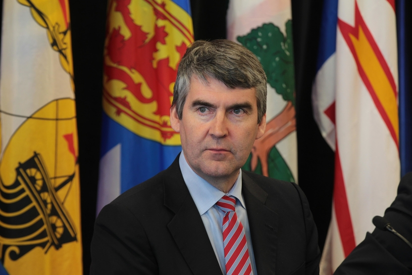 Nova Scotia Premier Stephen McNeil stepped down from his post Thursday.