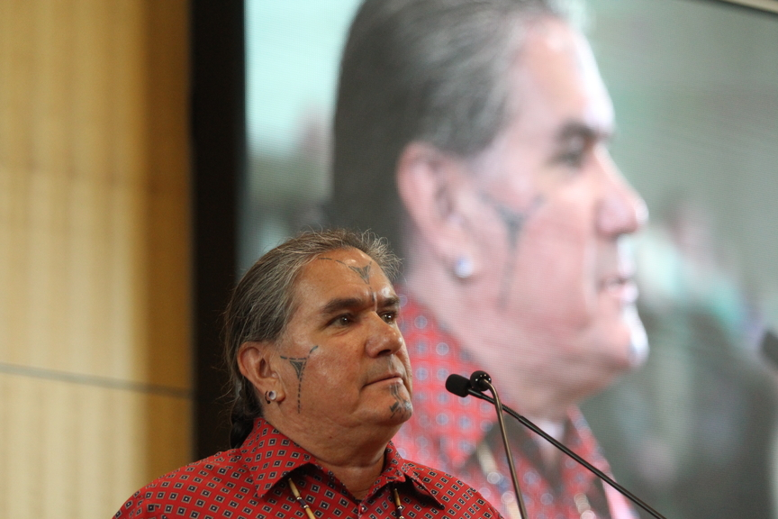 Ron Tremblay, chief of the Wolastoq Grand Council, pictured in this file photo, said having easy access to the historical records from Indian day schools in the province will help Indigenous communitiesgain some closure, as well as understand why there's a lack of knowledge of their language and culture.