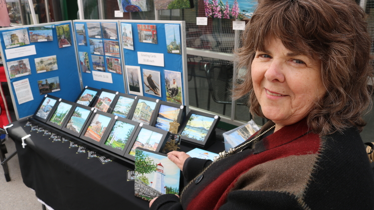 Sheila Howell is one of several artists participating in the upcoming Culturescape festival running Friday through Sunday.