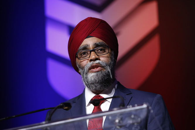 Harjit Sajjan, Canada's defence minister. The Canadian government announced Fleetway was awarded a contract to provide data management and support services for the navy's Halifax-class ships.