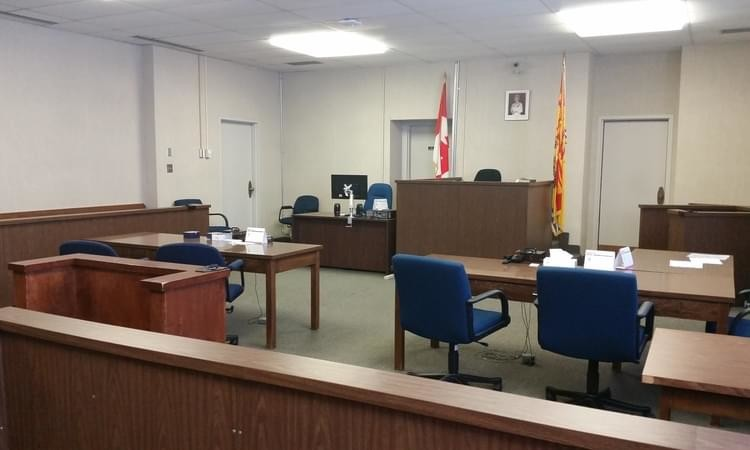 Fredericton provincial court.
