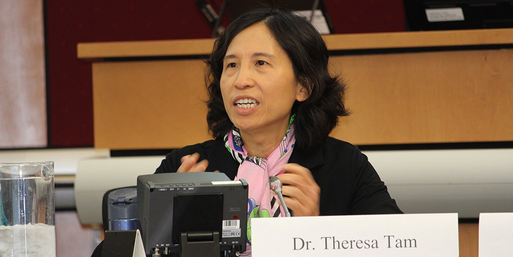 Dr. Theresa Tam has urged Canadians not to let up on following social distancing and other health guidelines, despite the onset of summer.