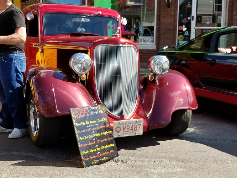 A portion of Main Street in Sussex will be closed Thursday evening to accommodate a car show downtown. It's the first of three Main Street closures over the next month. An old car is pictured from a past event in this file photo.