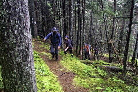 Crews from the Sussex Fire Department, RCMP, and Department of Natural Resources were dispatched to rescue a pair of hikers from the Fundy Footpath Monday night, who were found uninjured. This file photo shows a section of the trail.