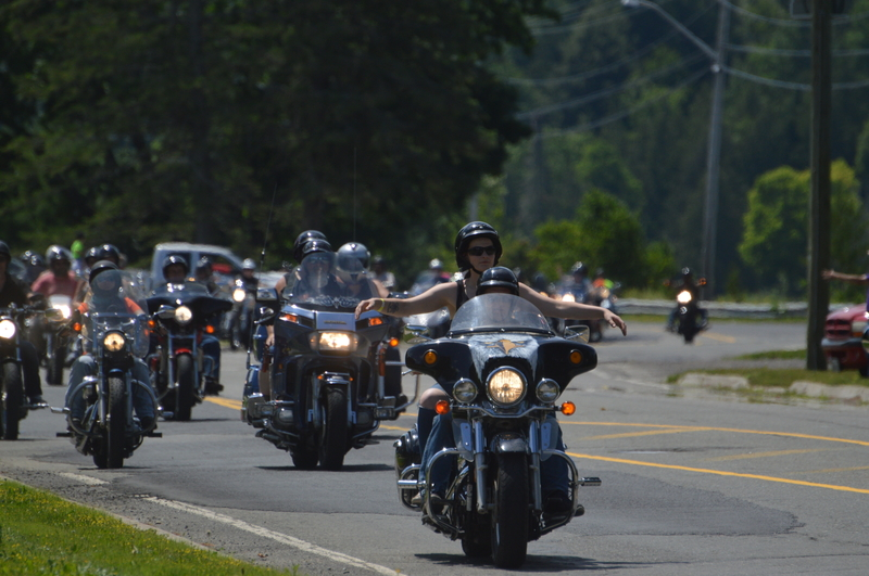 The inaugural Ride 4 Suicide Awareness motorcycle rally will be held on Saturday, Sept. 11, with bikes leaving J&T Powersports in Woodstock at 11 a.m. and riding to MacLean's Sports Ltd. in Fredericton.