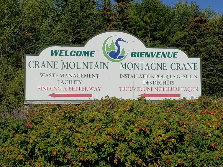 Fundy Regional Service Commission runs the Crane Mountain Landfill. Landfill tip fees are set to increase next year after 18 years of holding steady.