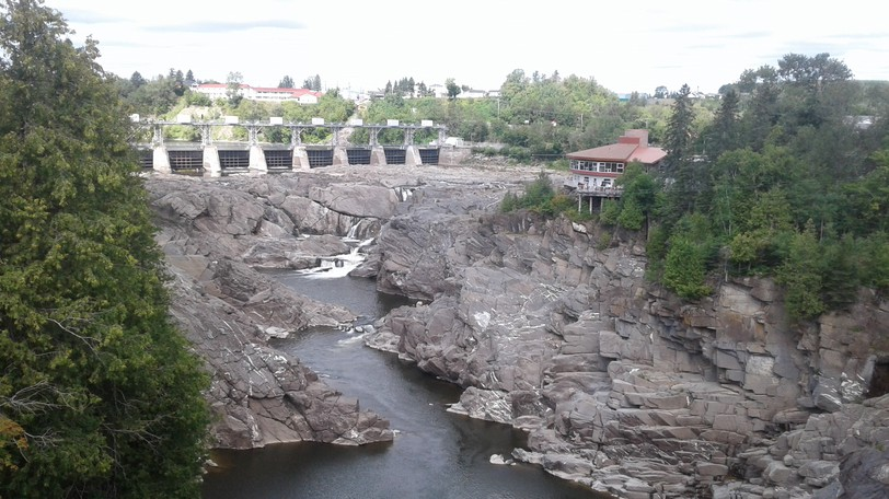 The Falls and Gorge at Grand Falls is shown in a file photo. Many Grand Falls restaurants have closed their dining rooms to in-person service over the last week in response to rising COVID-19 cases and dwindling numbers of customers as well as staffing struggles.