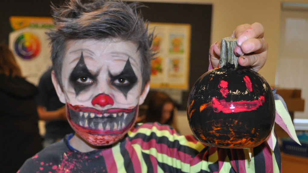 A Halloween enthusiast is all decked out for fun in this file photo. Woodstock town councillors continued to discourage trick or treating this year because of COVID-19 concerns.