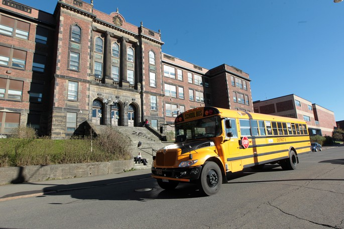 Saint John High School is pictured in a file photo.