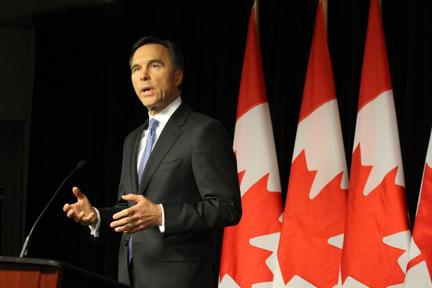 Federal finance minister Bill Morneau gave a fiscal update Wednesday after months of economic support in the wake of COVID-19.