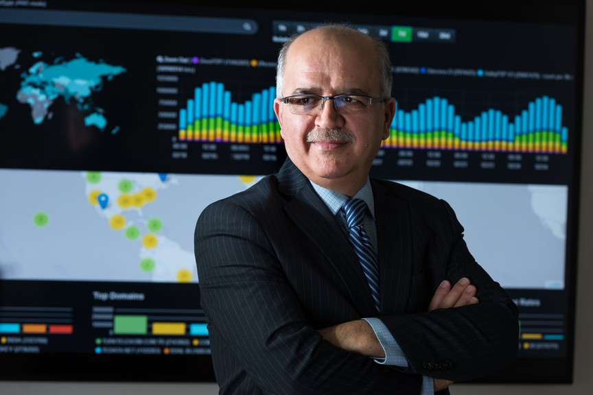 Ali Ghorbani, director of the Canadian Institute for Cybersecurity at the University of New Brunswick.