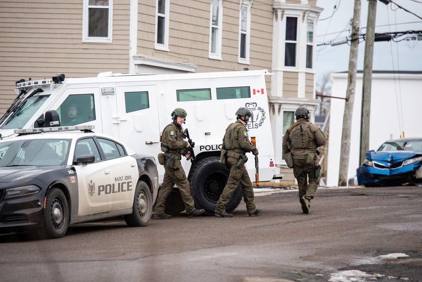 Saint John police Insp. Mike Young revealed some details surround the force's guided national use-of-force framework at Tuesday's Saint John Board of Police Commissioners meeting, which was held via WebEx.