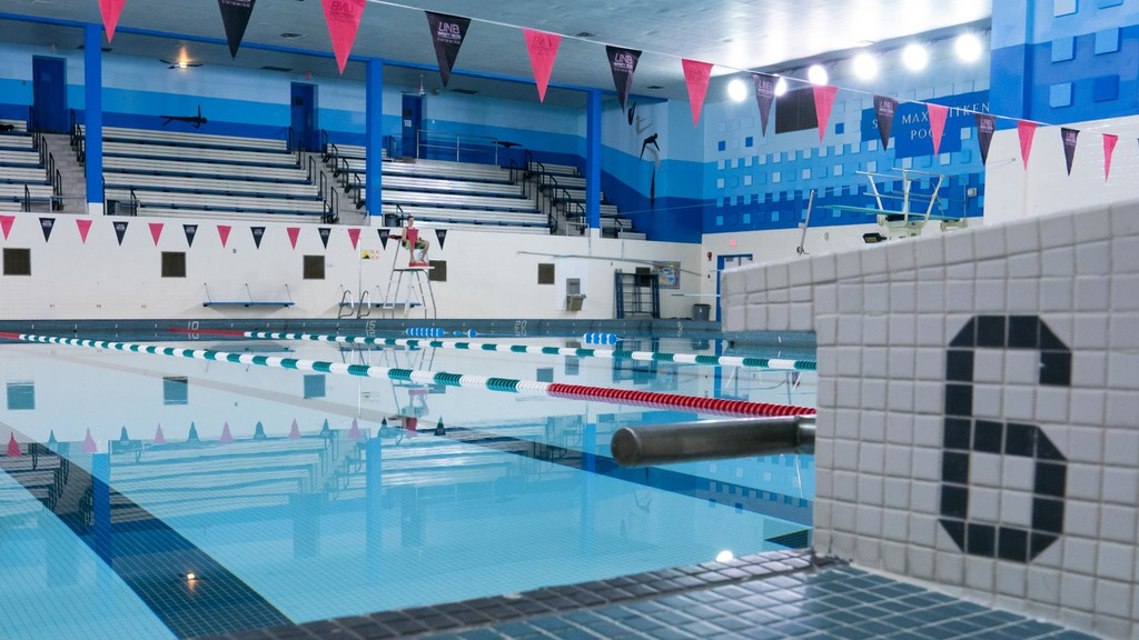 The Sir Max Aitken Pool at the University of New Brunswick, which proponents are hoping to replace with the construction of a new regional aquatic centre.