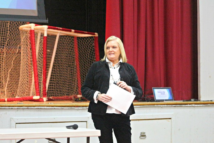 Sarah Pacey, CAO for the Town of Florenceville-Bristol, is pictured in this file photo. Florenceville-Bristol and other Carleton County municipalities have yet to decide what they are going to do with their community funding and equalization grant money announced by the province.