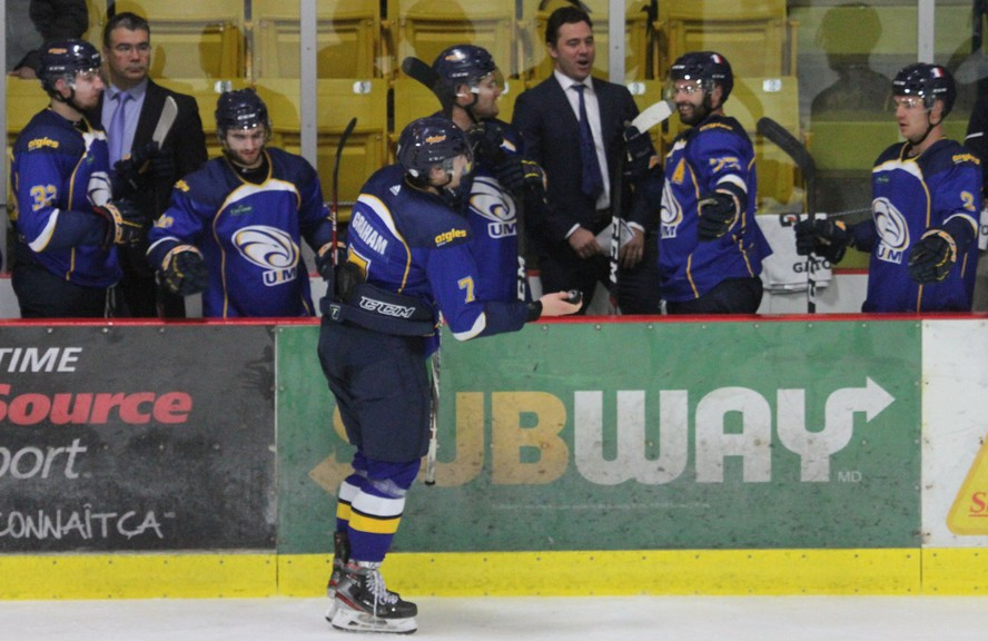U Sports has cancelled all of its national championships for the winter semester, impacting teams such as the Université de Moncton Aigles Bleus men's hockey squad.