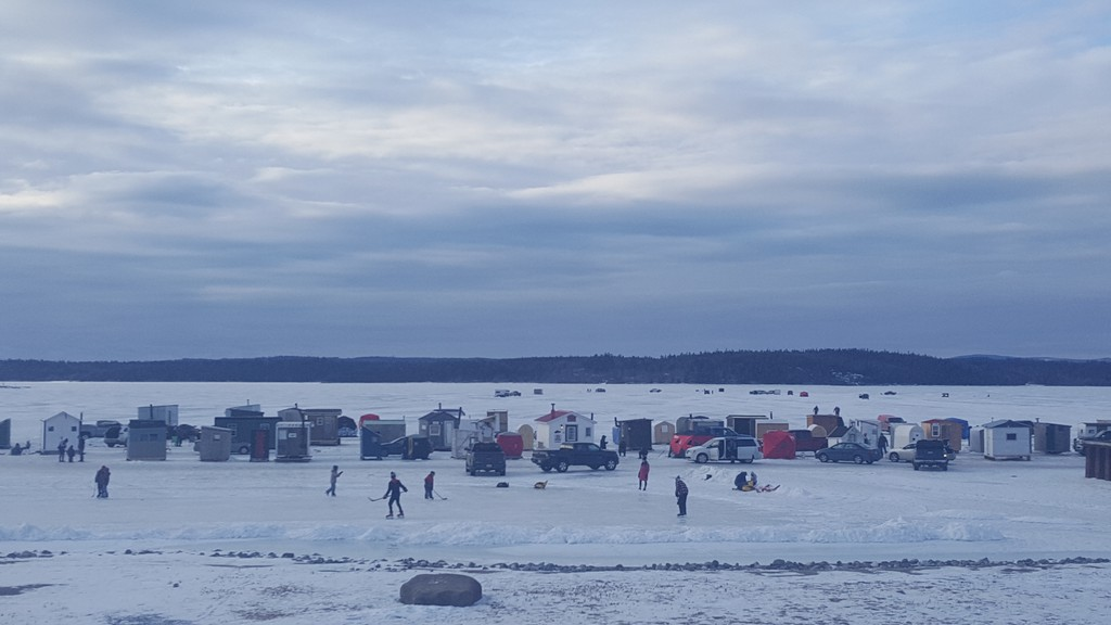 The province has set March 8 as the deadline for all ice fishing shelters to be removed from provincial waterways in the southern half of the province, including Kings County. The ice fishing season continues until March 31.