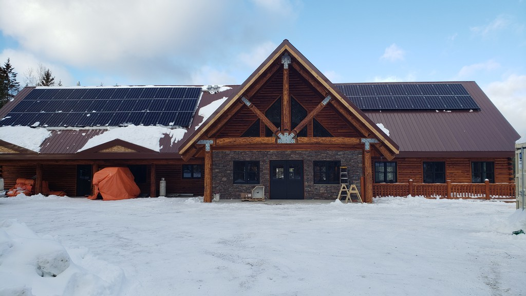 The lodge at Mount Carleton Provincial Park is shown in a file photo. A small earthquake recorded in northwest New Brunswick Sunday likely caused no damage.