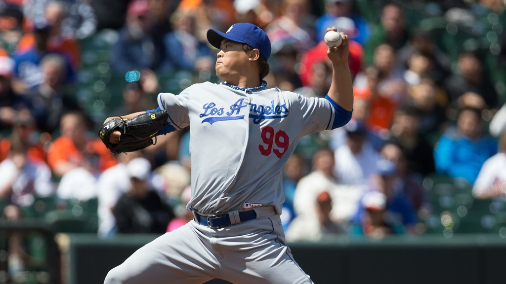 Former Los Angeles Dodgers pitcher Hyun-Jin Ryu joined the Toronto Blue Jays in the offseason.