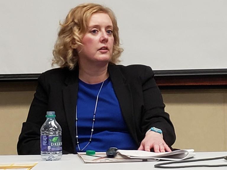 Kim Poffenroth, New Brunswick's chief electoral officer.