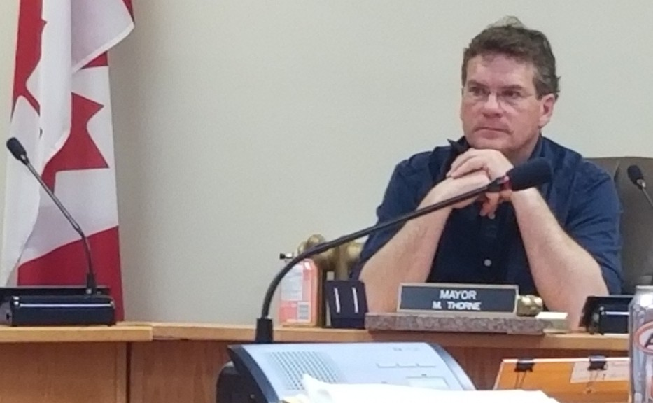 Sussex Mayor Marc Thorne said at this point he doesn't think residents will see a rise in taxes in the upcoming 2021 budget.