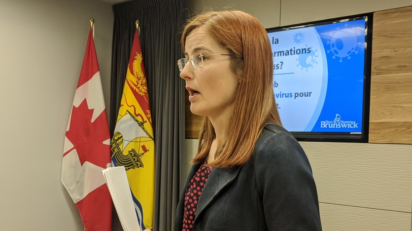 Dr. Cristin Muecke, the province's deputy chief medical officer of health