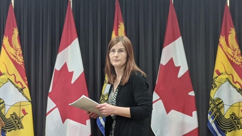 Deputy chief medical officer Dr. Cristin Muecke.