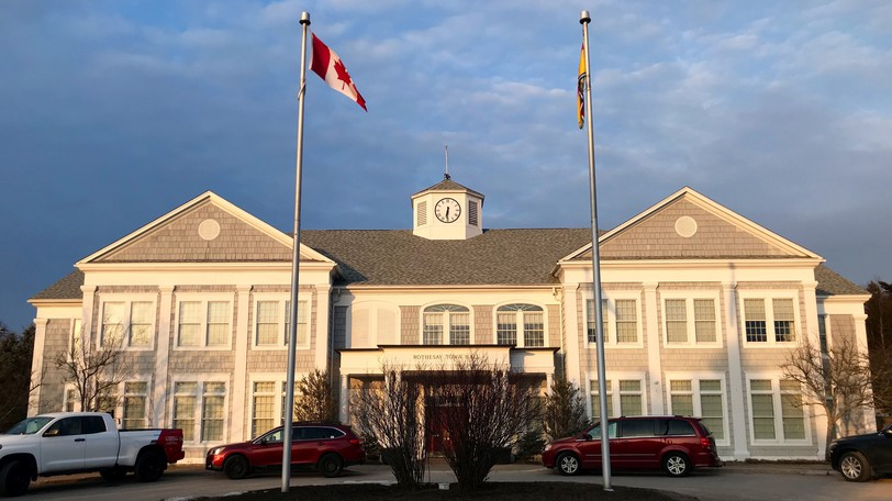 Rothesay Town Hall is pictured in this file photo.
