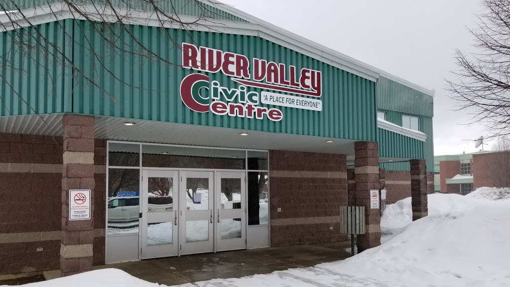 Hockey games, public skating and shinny are cancelled at the River Valley Civic Centre in Perth-Andover as Zone 3, the Fredericton region, goes back to the orange stage of recovery effective at midnight, Nov. 26.