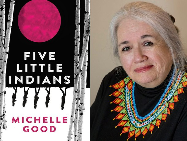 Michelle Good's first novel 'Five Little Indians' follows five characters throughout their lives, beginning with childhood in an abusive residential school.