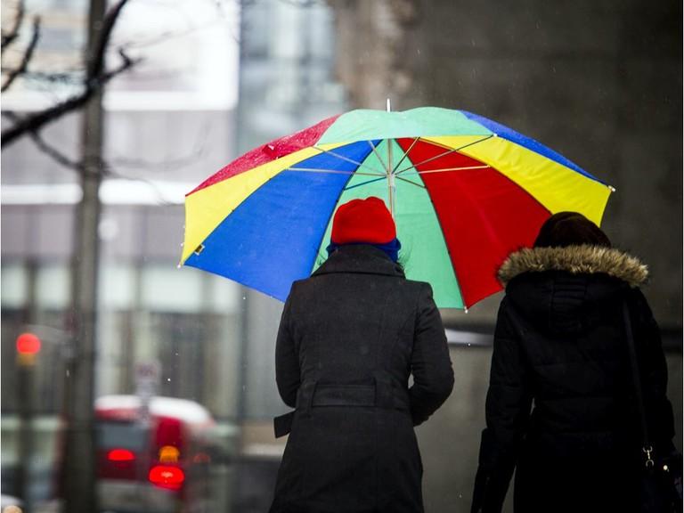 Heavy rain is expected in Saint John on Saturday.