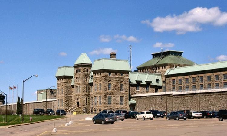 Dorchester Penitentiary.