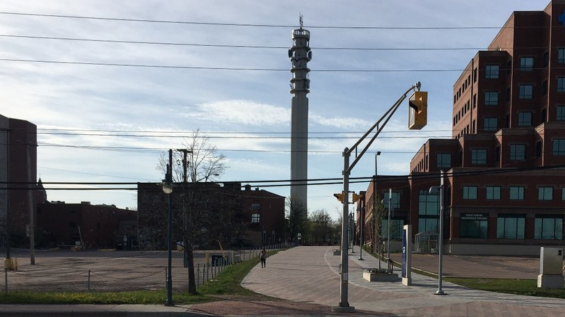 A view of downtown Moncton.