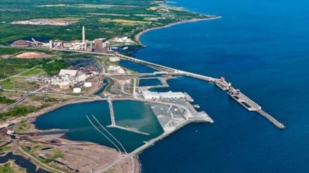 The Maritime Iron project, which would be developed at the Port of Belledune, pictured here, is just the latest major provincial investment project at risk of being pushed away.